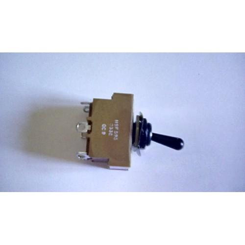 CLANSMAN TOGGLE LEVER SWITCH ASSY  10A  250V AC 30 VDC